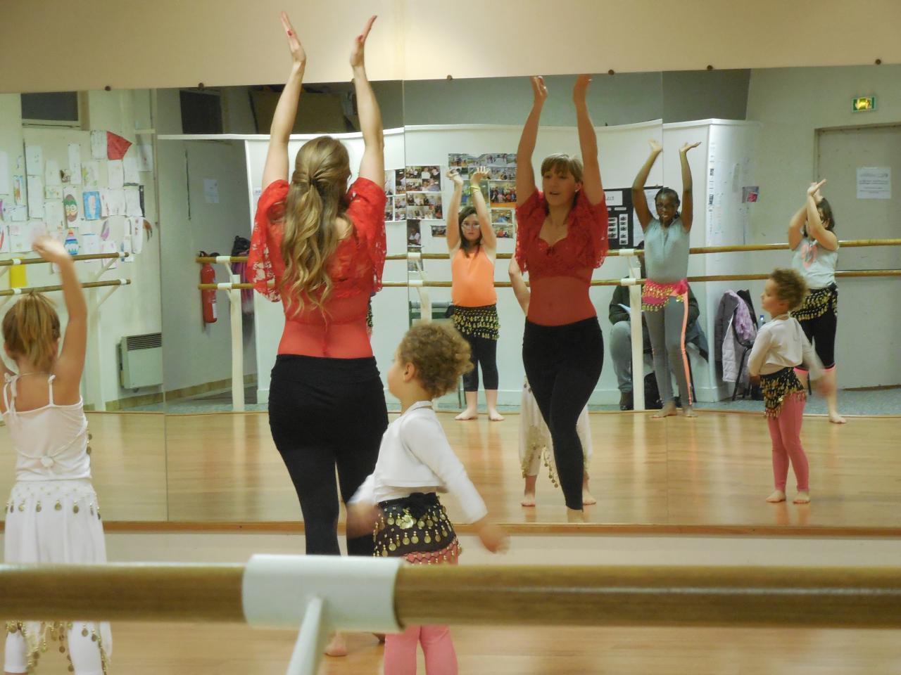 danse orientale enfant