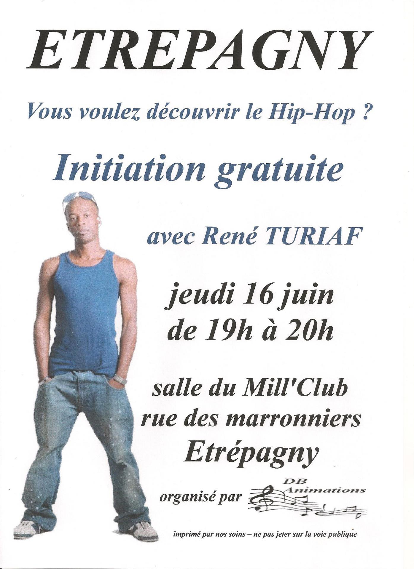 Stage d'Initiation Hip Hop