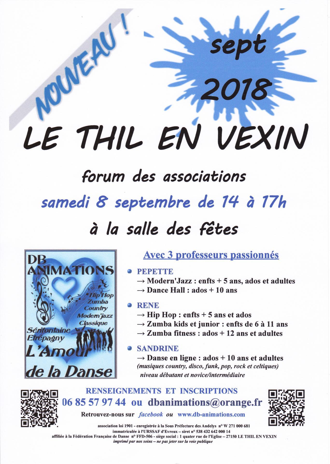 Db forum thil en v 2018 2019