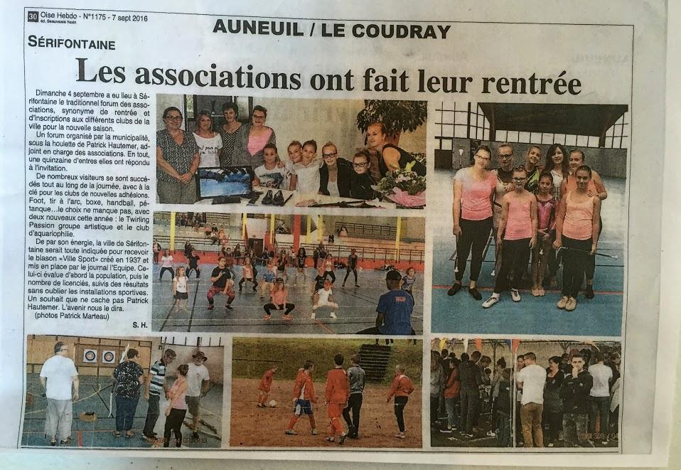 Un article dans Oise Hebdo avec les photos de Monsieur Patrick Marteau